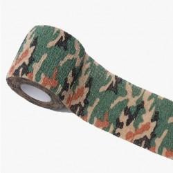 Maskovací voděodolná páska - armygreen