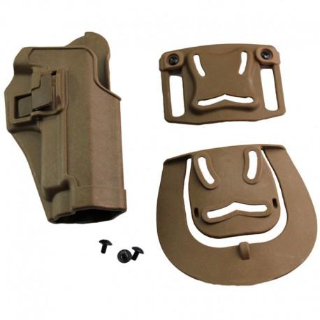 Pistolové polymerové pouzdro pro SIG SAUER - černé