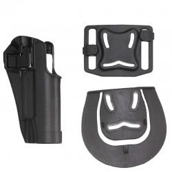 Pistolové polymerové pouzdro pro Colt 1911 - černé