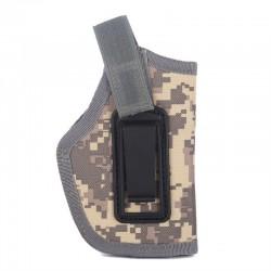 Opaskové pouzdro na pistoli - zelené