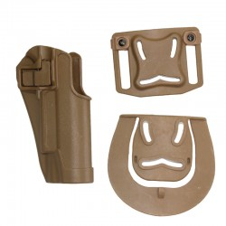 Pistolové polymerové pouzdro pro Colt 1911 - pískové