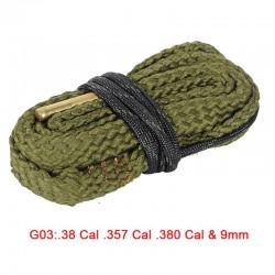Boresnake  .38 Cal .357 Cal .380 Cal & 9mm