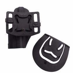 Pistolové polymerové pouzdro pro HK USP - černé