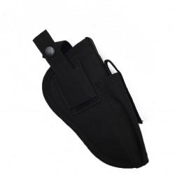 Oboustranné opaskové pouzdro - černé