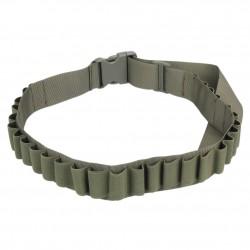 Nábojový pás brokový - zelený na 27