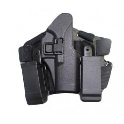 Stehenní pro Glock 17, 19 ...  - černé