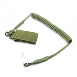 Bezpečnostní šňůra k pistoli - zelená