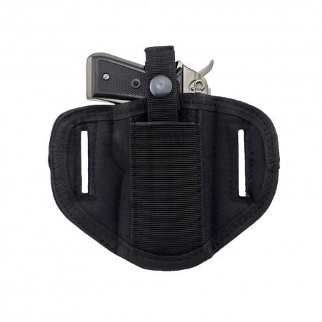 Pistolové opaskové pouzdro oboustranné - černé