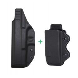 Glock 17, 22, 31 + zásobník pro praváka - vnitřní kydex