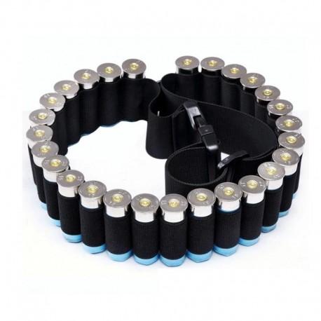 Nábojový pás brokový - černý na 26