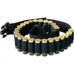 Nábojový pás brokový - černý na 29