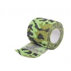 Maskovací voděodolná páska - black