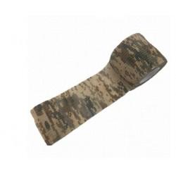 Maskovací voděodolná páska - green