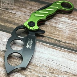 Nůž MTech - černozelený
