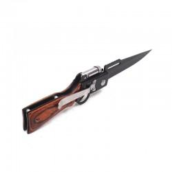 Zavírací  nůž  s LED světlem - puška