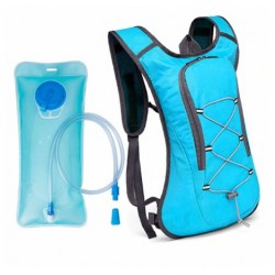 Batoh s hydratačním vakem - modrý