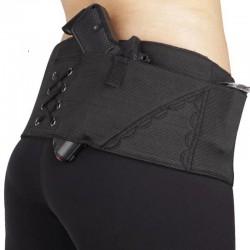 Neoprénový bederní pás pro ženy - černý