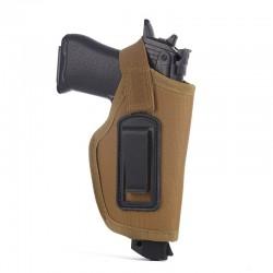 Opaskové pouzdro na pistoli - pískové