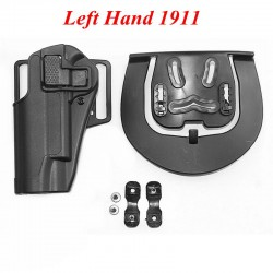 Polymerové pouzdro pro leváka pro Colt 1911 - černé