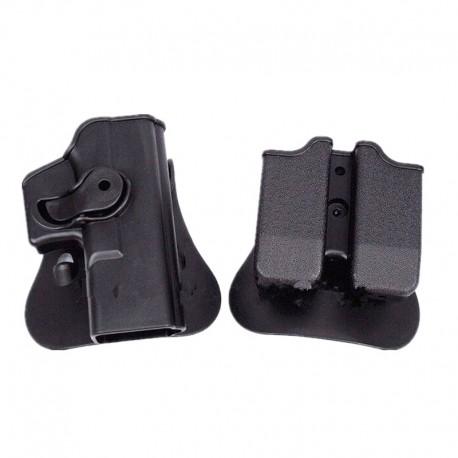 Pouzdro pro Glock s pouzdrem na zásobníky