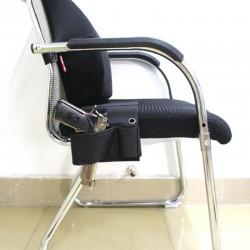 Pouzdro na židli - černé