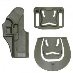 Pistolové polymerové pouzdro pro GLOCK - zelené