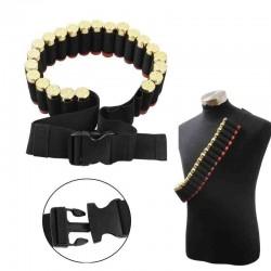 Nábojový pás brokový - černý