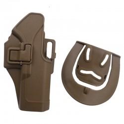Pistolové polymerové pouzdro pro GLOCK - pískové