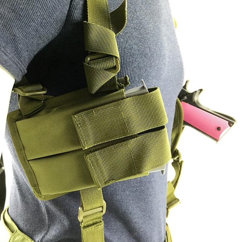 Podpažní pouzdro na zbraň - zelené 024z