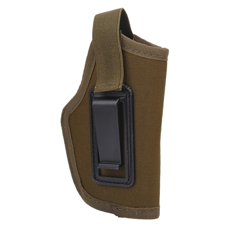 Opaskové pouzdro na pistoli - pískové 012p