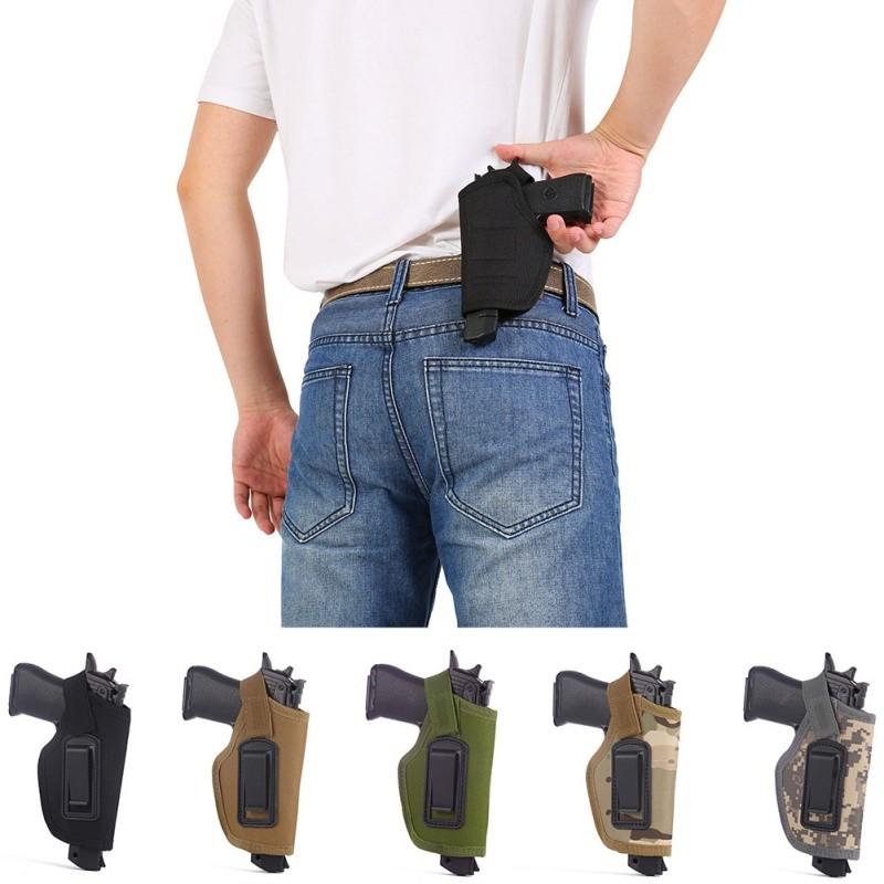 Opaskové pouzdro na pistoli - zelené 012z